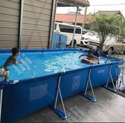 16feet Swimming Pool With Filter, Ladder and Cover for Sale in Nigeria | Sports Equipment for sale in Lagos State
