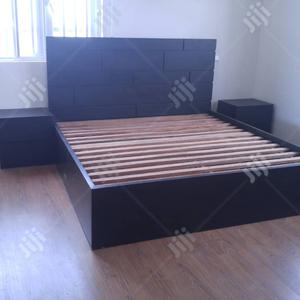 Bed- Simple Black Design | Furniture for sale in Lagos State, Ajah