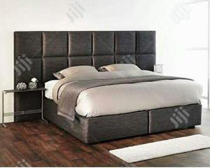 Executive 6x6 Hdf Bed With 8x6 Padded Head Rest | Furniture for sale in Lagos State, Ajah