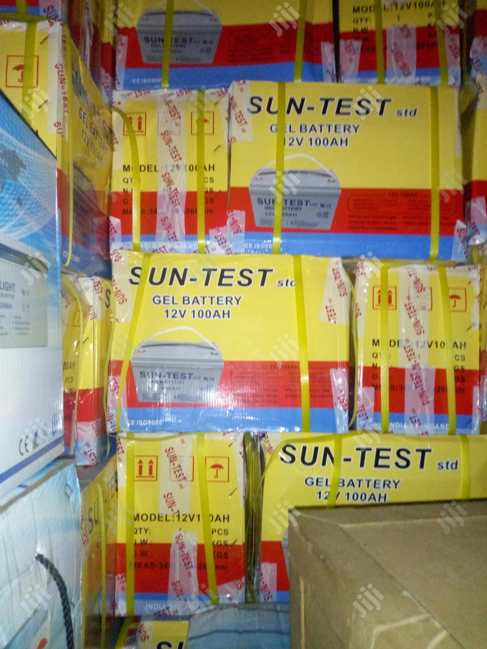100ah Battery | Solar Energy for sale in Lagos State, Nigeria