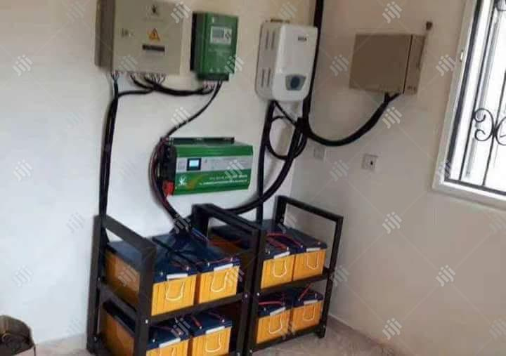 5kva/48v Inverter + 8× 200ah Batteries + Rack + Installation. | Electrical Equipment for sale in Ojo, Lagos State, Nigeria