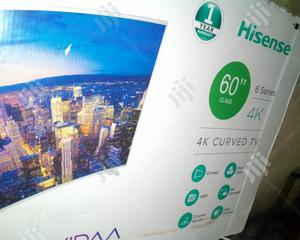 Hisense LED 60inch Curved Smart | TV & DVD Equipment for sale in Lagos State, Lekki
