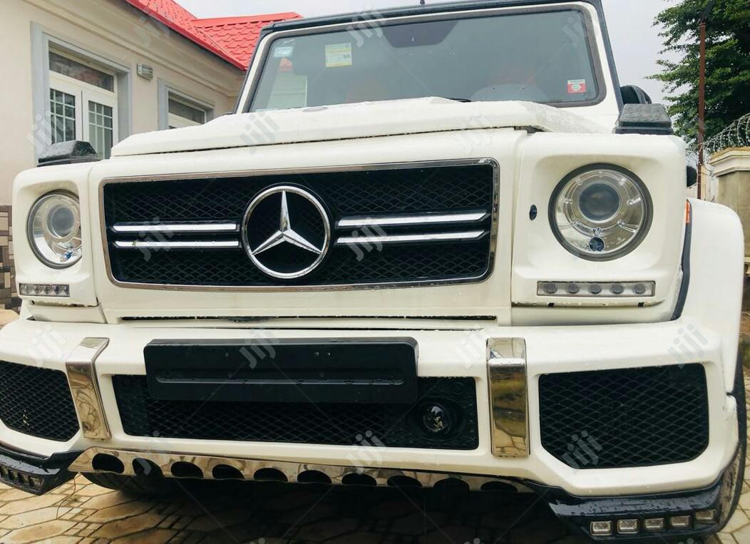 Archive Mercedes Benz G Class 2014 White In Lekki Cars Metro Ventures Jiji Ng For Sale In Lekki Buy Cars From Metro Ventures On Jiji Ng