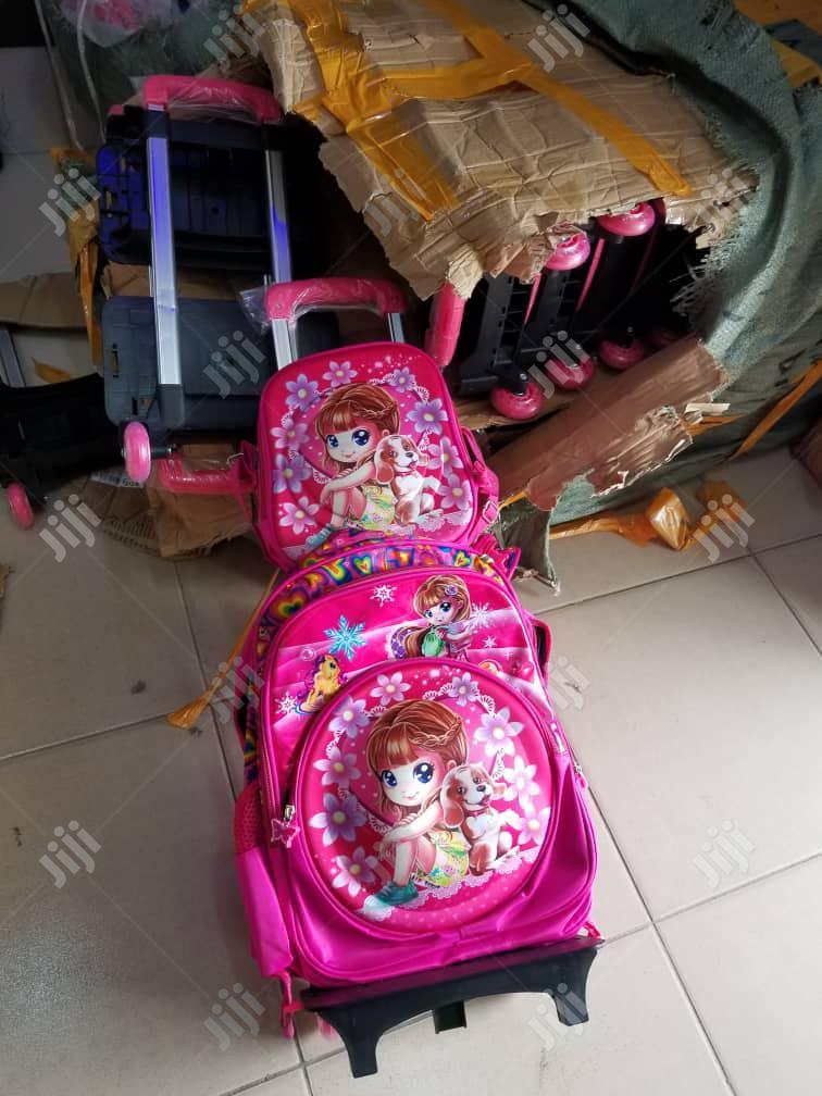 Trolley School Bag Set   Babies & Kids Accessories for sale in Ajah, Lagos State, Nigeria