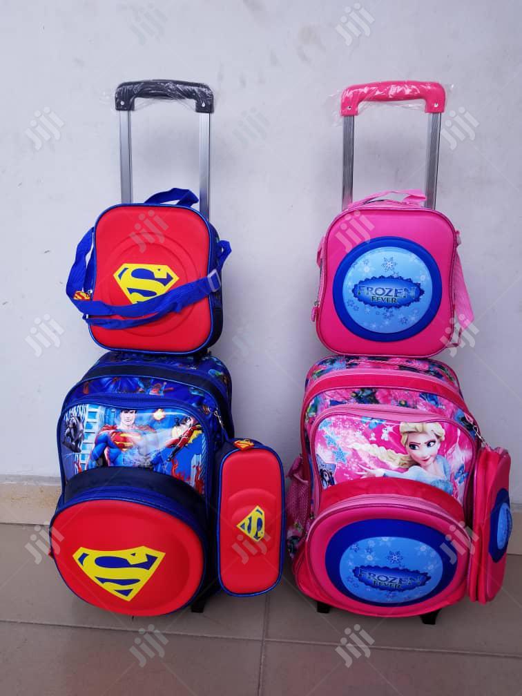 Trolley School Bag Set