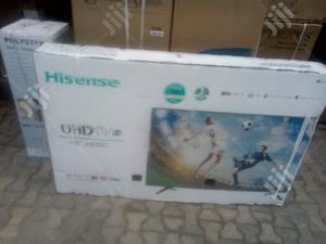 65inch Hisense UHD TV With Netflix   TV & DVD Equipment for sale in Lagos State, Amuwo-Odofin