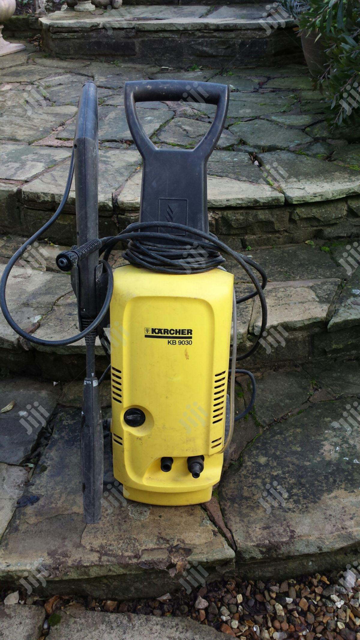 Archive: KARCHER KB 9030 Pressure Washer With Hose & Attachments