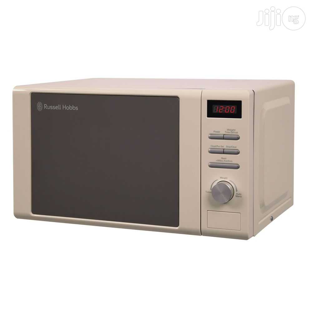 Archive: Russell Hobbs - 20-Litre Digital Cream Microwave