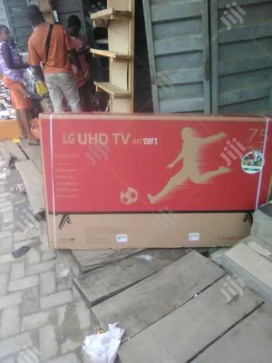 "Lg 75"" Smart Tv   TV & DVD Equipment for sale in Lagos State, Apapa"