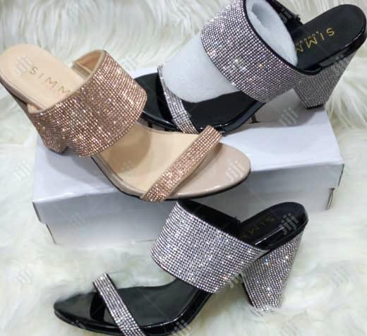 Quality Women Heel Slippers | Shoes for sale in Ikeja, Lagos State, Nigeria