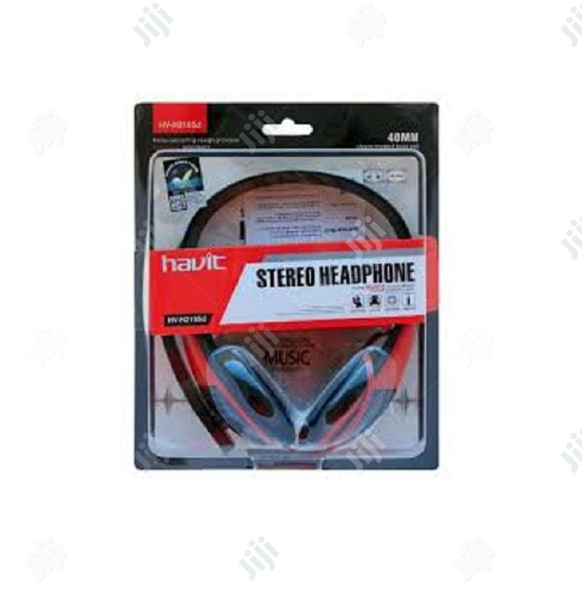 Havit Stereo Headphone With Mich   Headphones for sale in Ikeja, Lagos State, Nigeria
