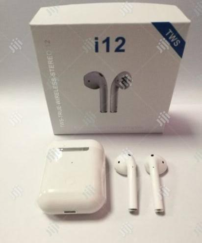 I12 Tws Bluetooth | Headphones for sale in Ikeja, Lagos State, Nigeria
