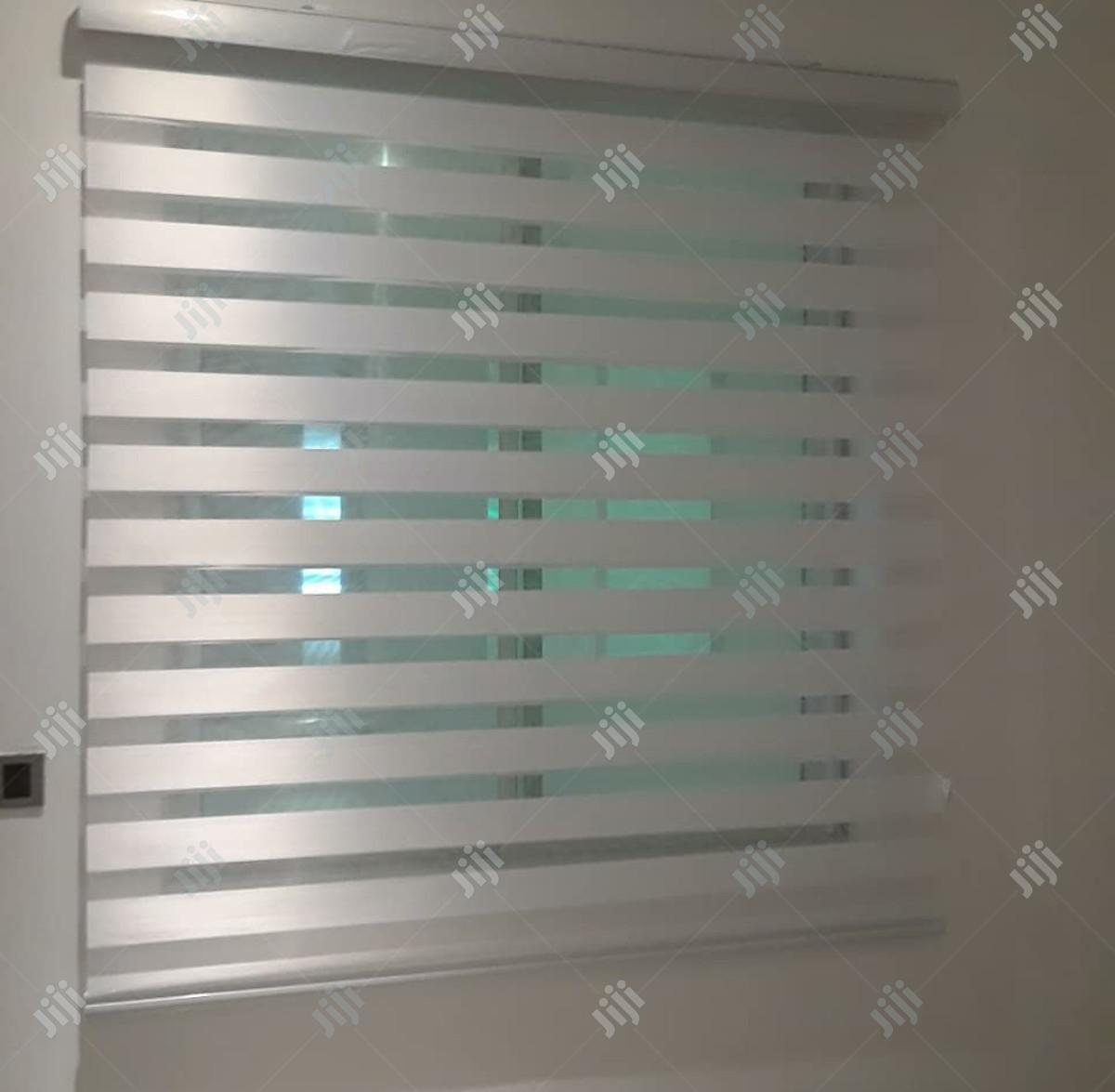 Night and Day Window Blinds. Free Installation Within Abuja