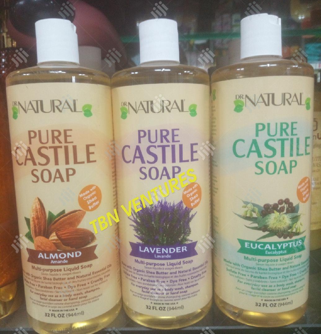 Dr Natural Pure Castile Soap Varieties -1000ml