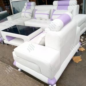 Set of L- Shaped Sofa With Center Table | Furniture for sale in Lagos State, Ikeja