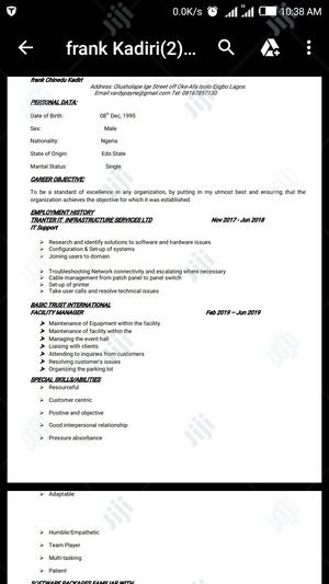 Airport Services Duty Officer   Customer Service CVs for sale in Lagos State, Isolo