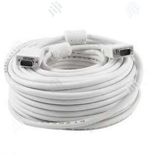 Fjgear 50M VGA Cable   Accessories & Supplies for Electronics for sale in Lagos State, Ikeja