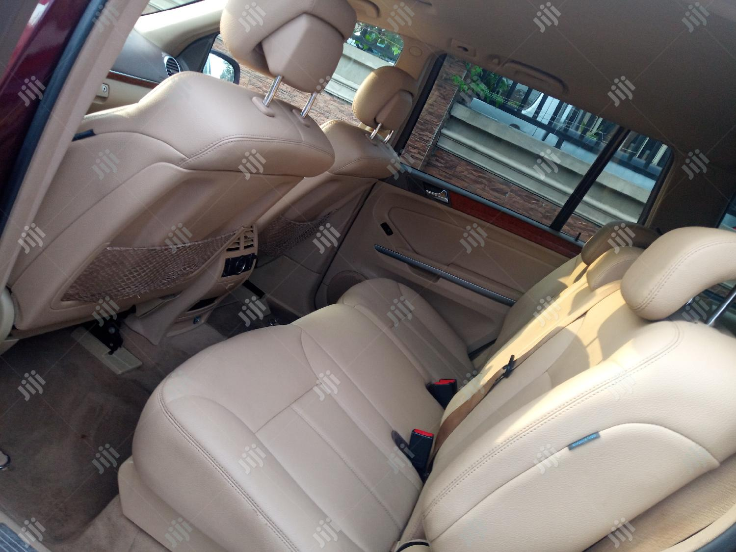 Mercedes-Benz GL Class 2008 GL 450 Red | Cars for sale in Ajah, Lagos State, Nigeria