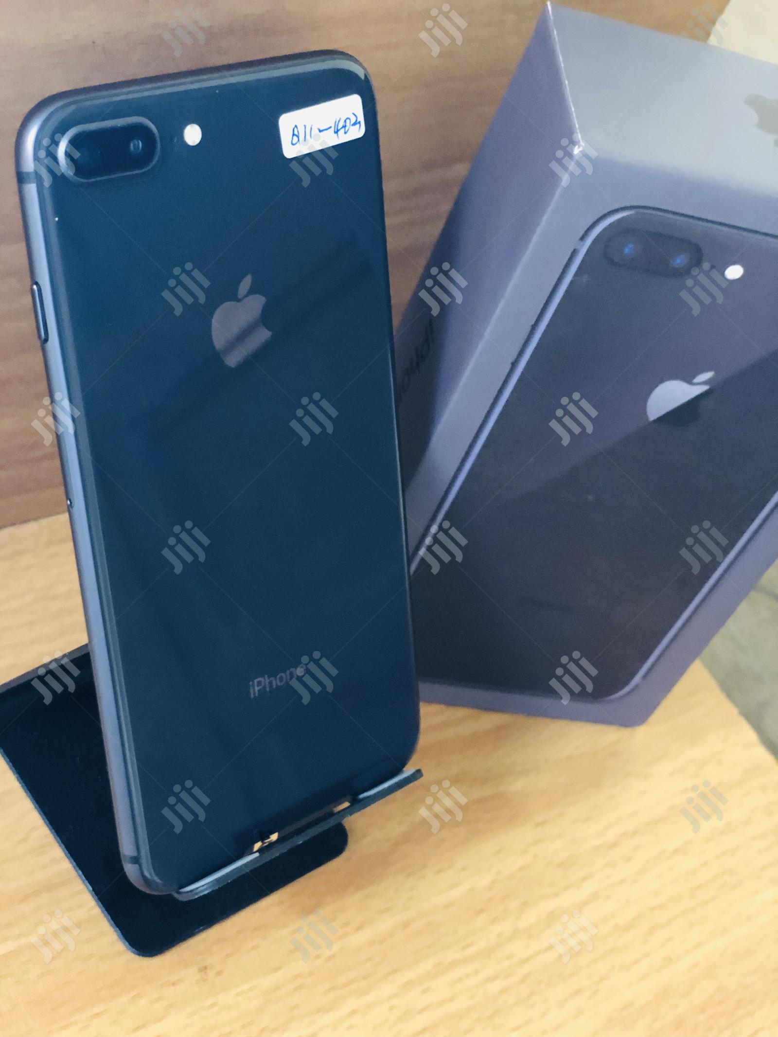 Apple iPhone 8 Plus 64 GB Black   Mobile Phones for sale in Benin City, Edo State, Nigeria