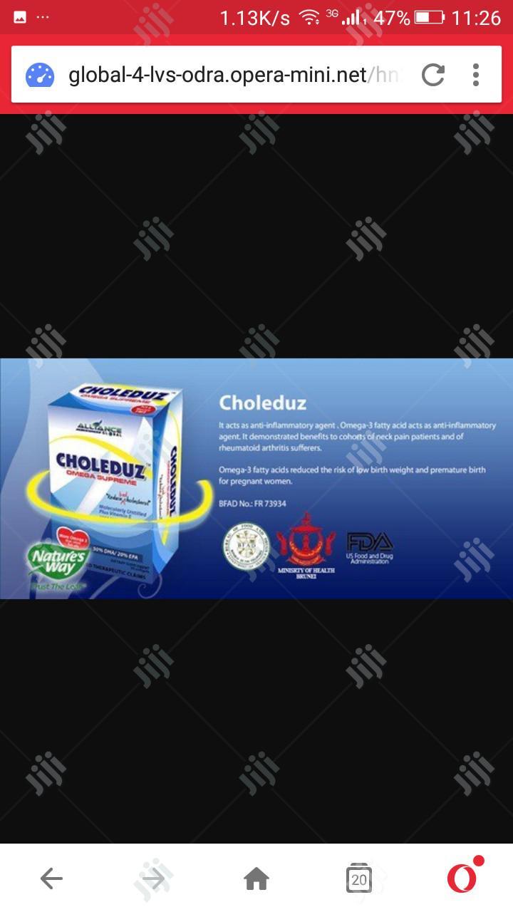 Choleduz Omega Supreme | Vitamins & Supplements for sale in Shomolu, Lagos State, Nigeria