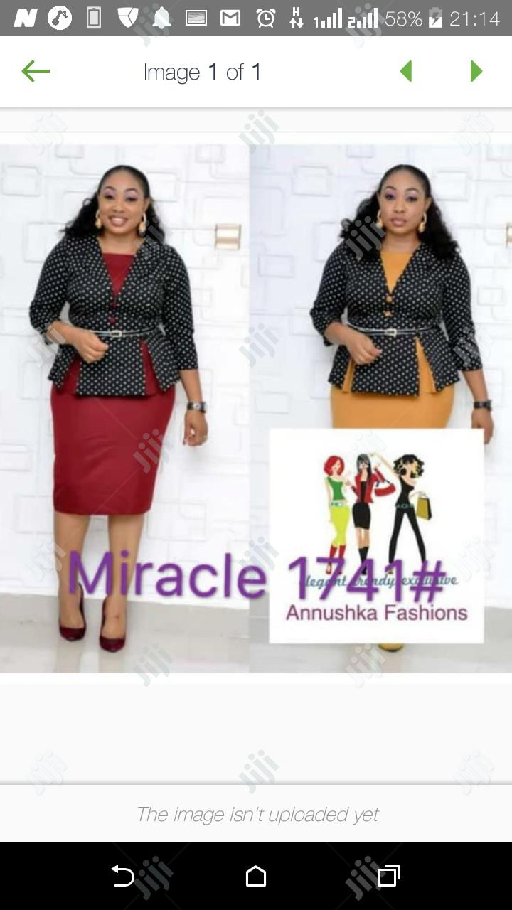 Women's Miracle Skirt Blouse   Clothing for sale in Ikeja, Lagos State, Nigeria