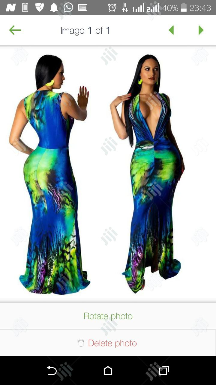 Ladies Fitted Gown | Clothing for sale in Ikeja, Lagos State, Nigeria
