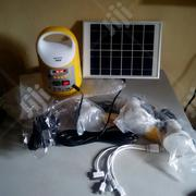 Solar Kits With 3bulbs,1lamp,Radio,Bluetooth,Mp3 Player,Solar Panel | Solar Energy for sale in Oyo State, Ibadan