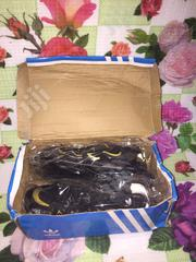 Black Adidas Sneakers For Sale, Brand New With Carton | Shoes for sale in Edo State, Benin City