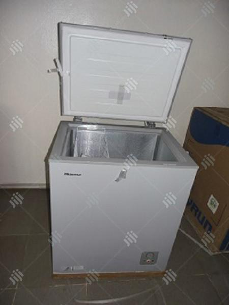 Archive: Hisense Chest Freezer 145L - FRZFC190SH - Silver