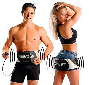 Vibroaction Vibro Action Electric Massager Slimming Fitness Belt | Sports Equipment for sale in Lagos State, Lagos Island (Eko)