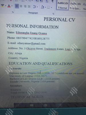 Restaurant & Bar CV | Restaurant & Bar CVs for sale in Abuja (FCT) State, Lugbe District