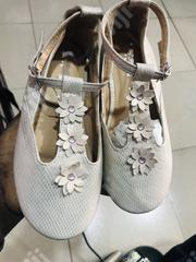 Fashionable Beautiful Unique Children Girls Floral Party Shoe-Peach   Children's Shoes for sale in Lagos State, Ifako-Ijaiye