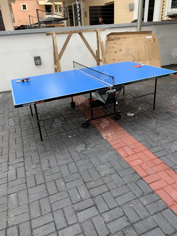 Standard Table Tennis Board (Water Resistant)
