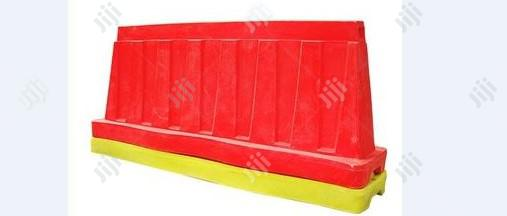 Customized Sand Filling Traffic Barriers BY HIPHEN SOLUTIONS LTD