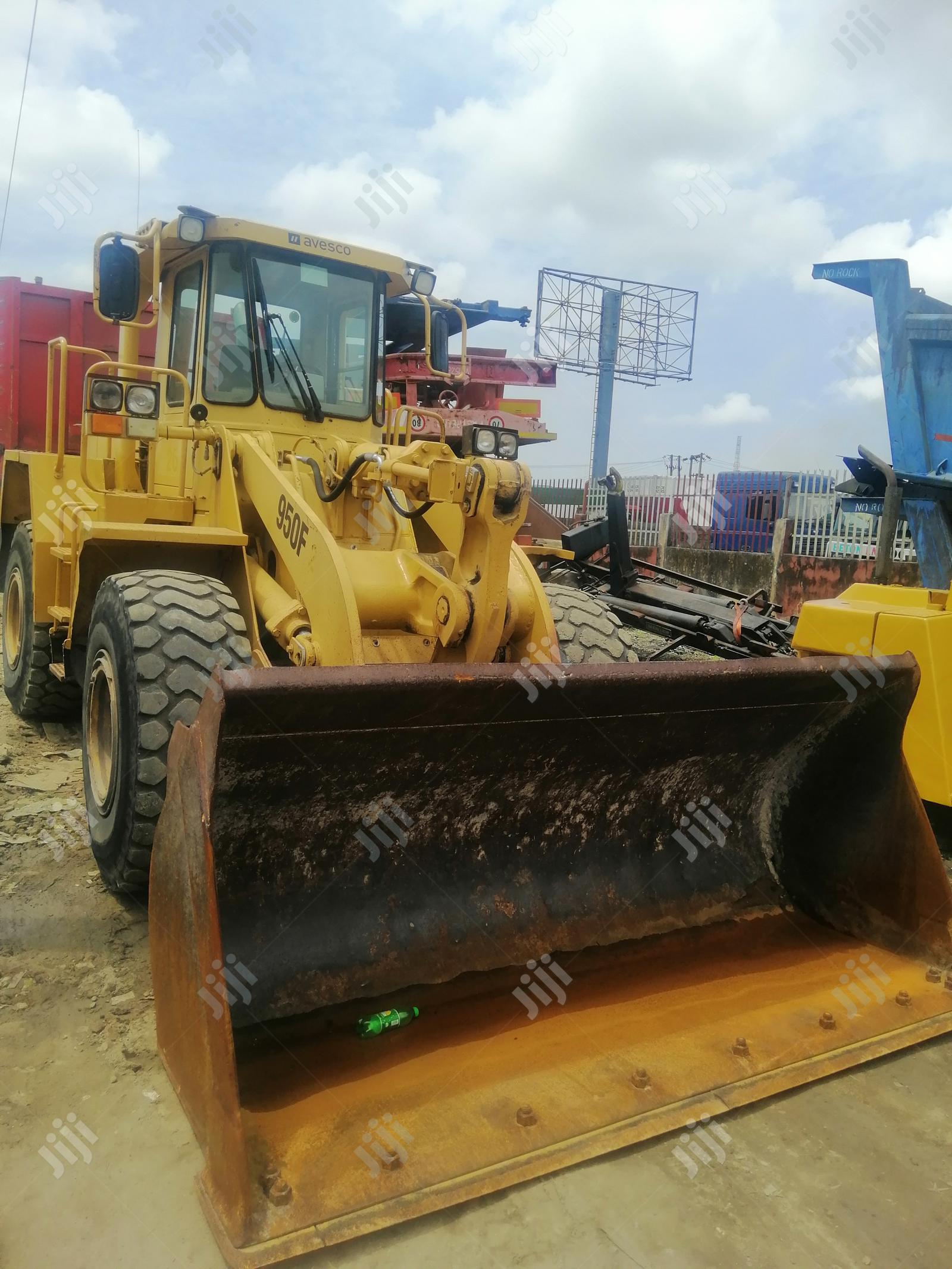 New Arrival European Used Cat 950F Wheel Loader Machine 4sale
