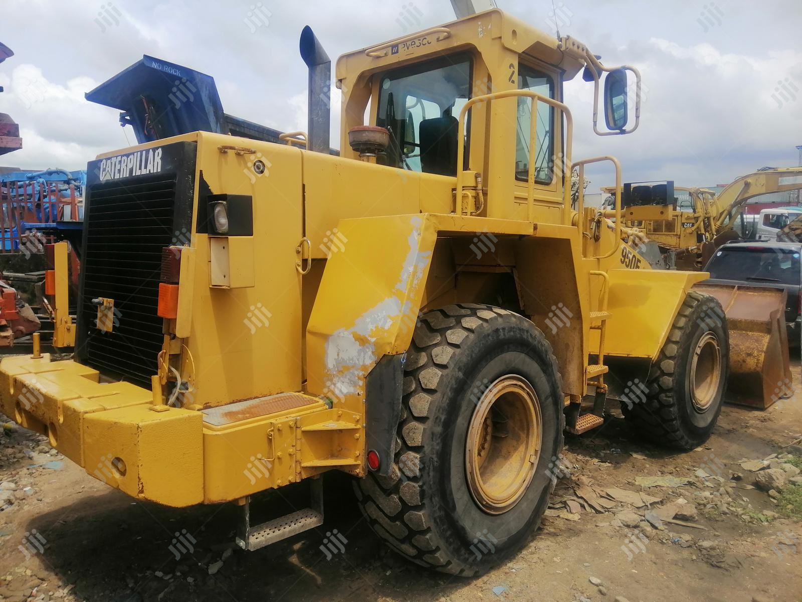 New Arrival European Used Cat 950F Wheel Loader Machine 4sale | Heavy Equipment for sale in Amuwo-Odofin, Lagos State, Nigeria