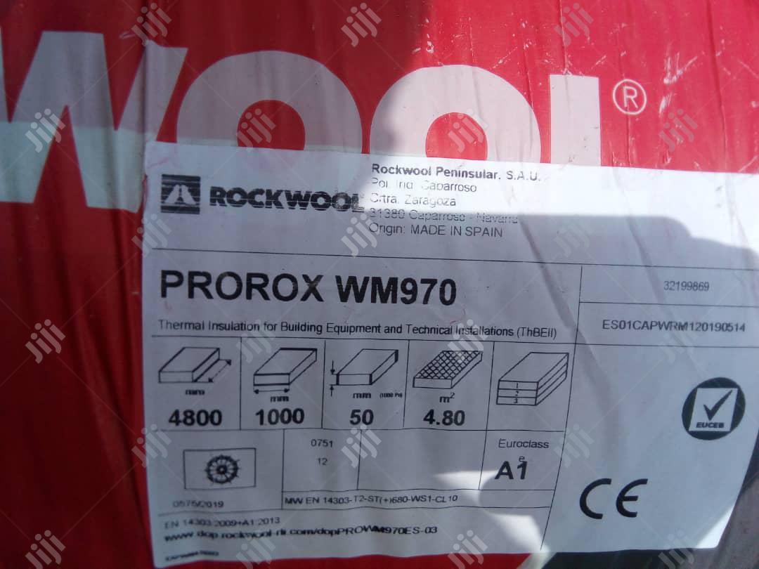 Archive: ROCKWOOL Prorox WM 970 : 1m X 4.8m X 50mm @ 128kg/M3