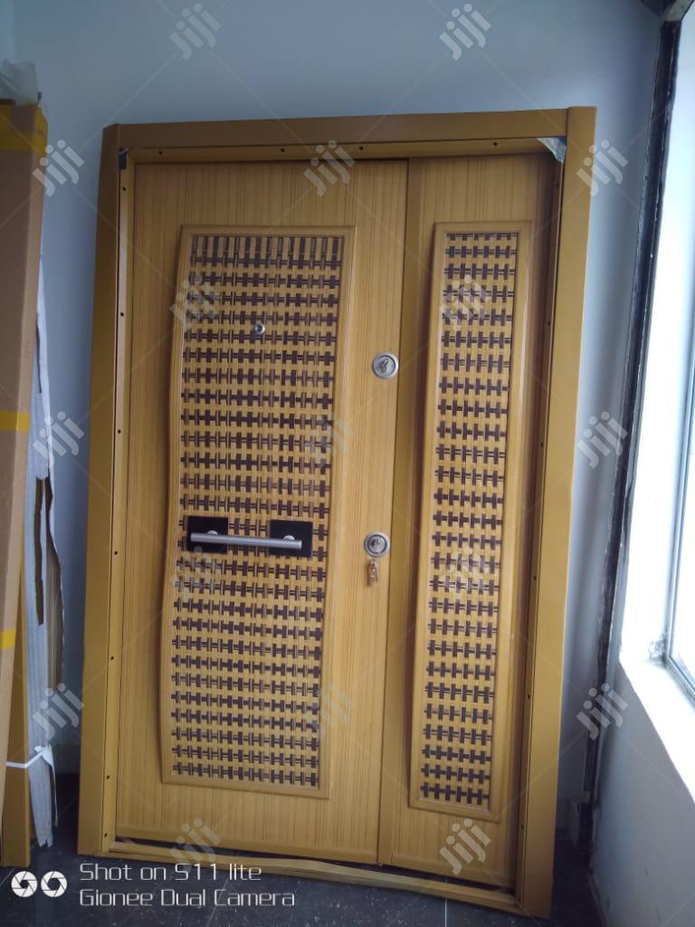 4ft Armored Embossed Luxury Turkish Security Door