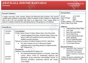 Abaukaka Jerome Barnabas | Human Resources CVs for sale in Abuja (FCT) State, Garki 2