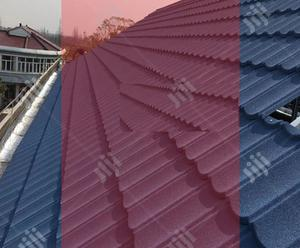 Anti Rust Bond Gerard Stone Coated Roofing & PVC Rain Gutter | Building & Trades Services for sale in Lagos State, Ibeju