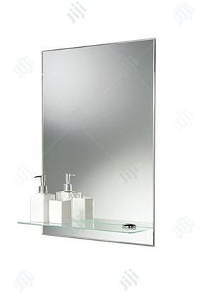 Square Mirror And Shelves Toilet And Bathroom | Home Accessories for sale in Lagos State, Surulere