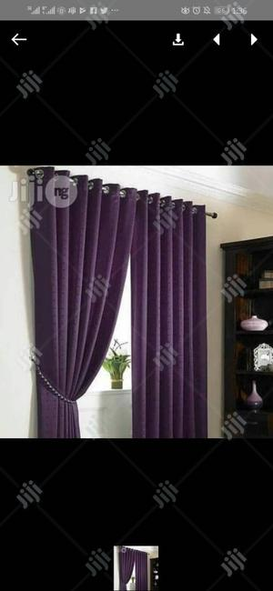 Purple Curtains | Home Accessories for sale in Lagos State