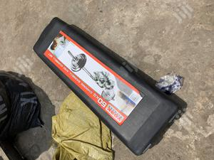 50kg Barbell With Box | Sports Equipment for sale in Lagos State, Surulere