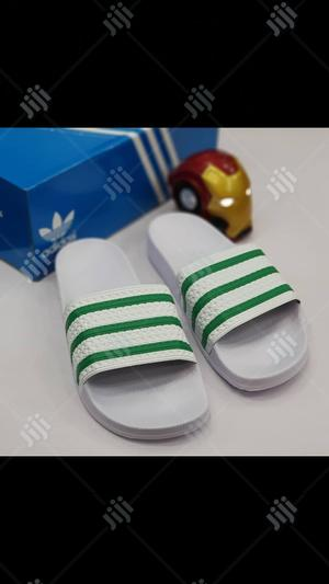 Original Adidas Slippers Available Here   Shoes for sale in Lagos State, Surulere