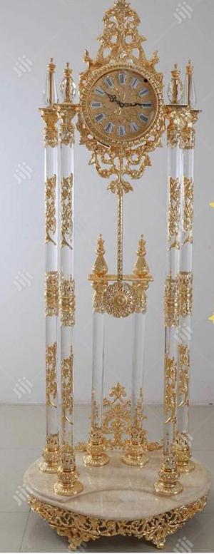 Gold Standing Clock | Home Accessories for sale in Lagos State, Amuwo-Odofin