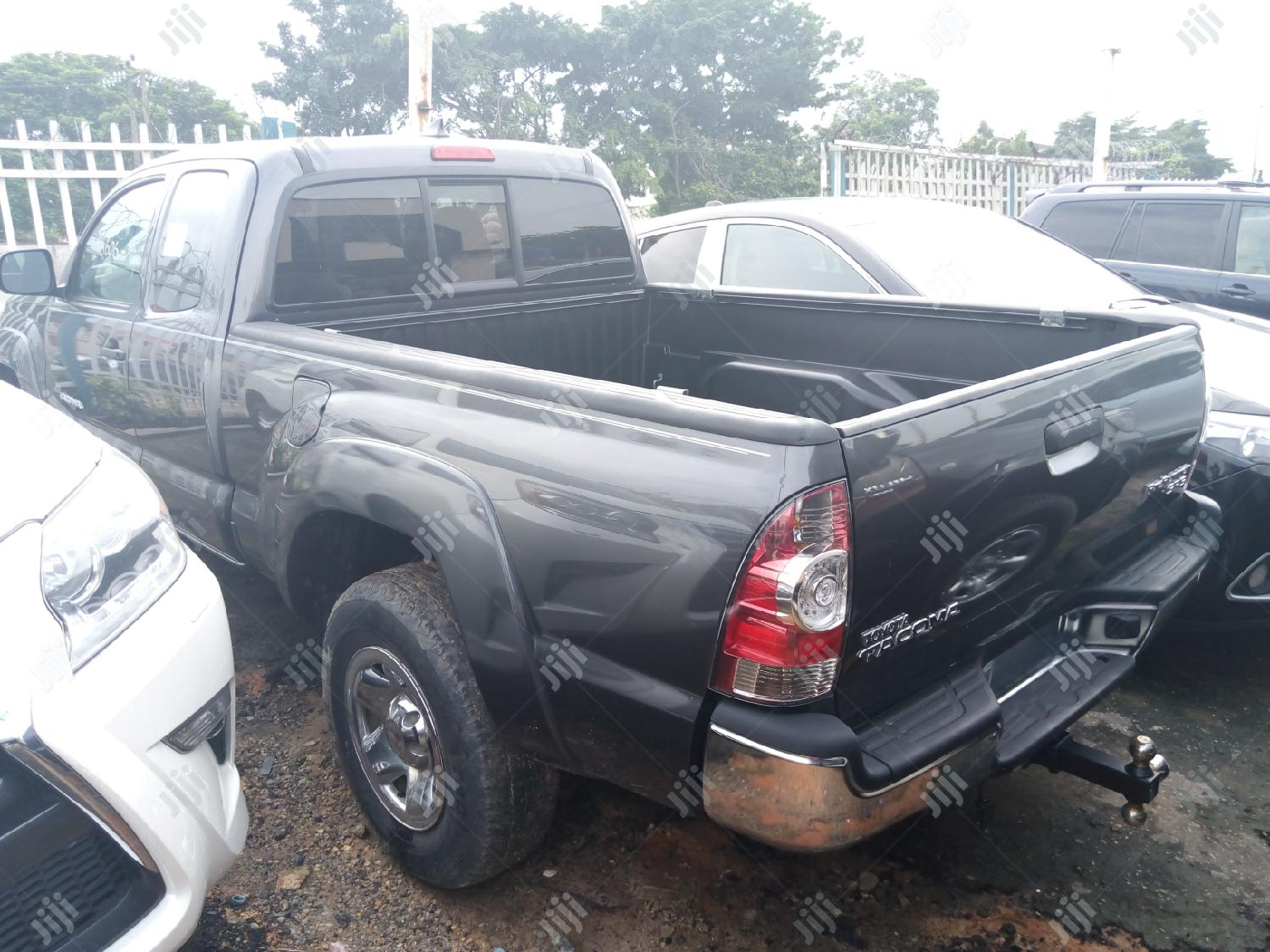 Toyota Tacoma 2015 Gray | Cars for sale in Ikeja, Lagos State, Nigeria