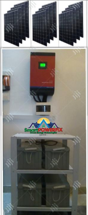 Solar Powered Gennex 5kva Inverter Installation With 4 Batteries   Solar Energy for sale in Lagos State, Ojodu
