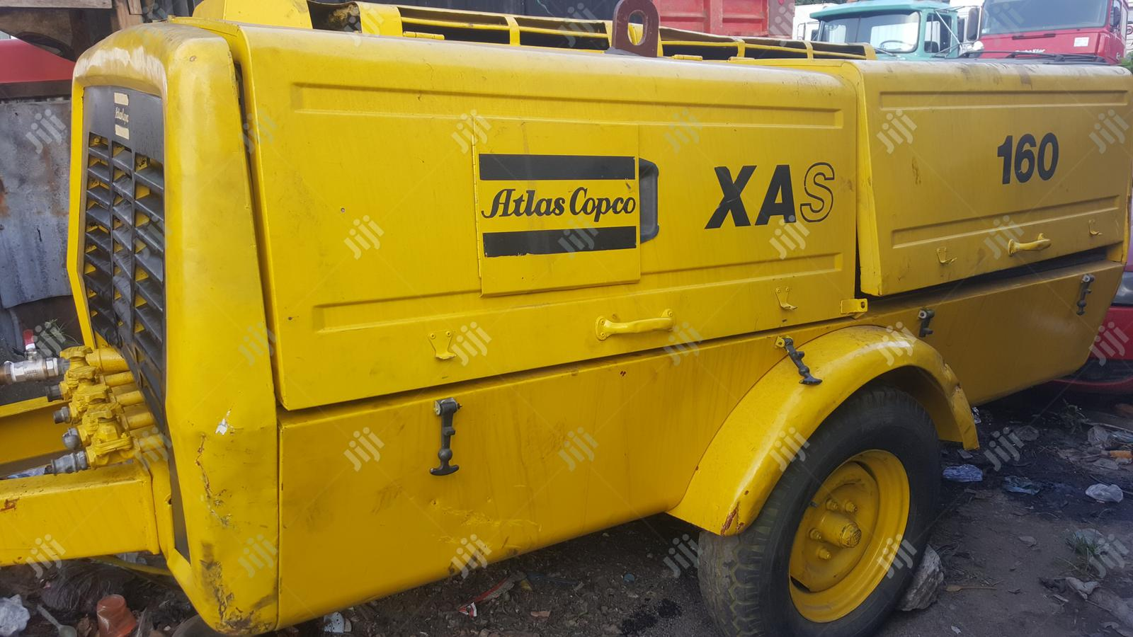 Tokunbo XAS 160 ATLAS Copco Air Compressor Deutz Engine