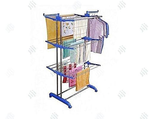 Evergreen Three Layer Baby Cloth Dryer Rack Indoor/Outdoor Hanger