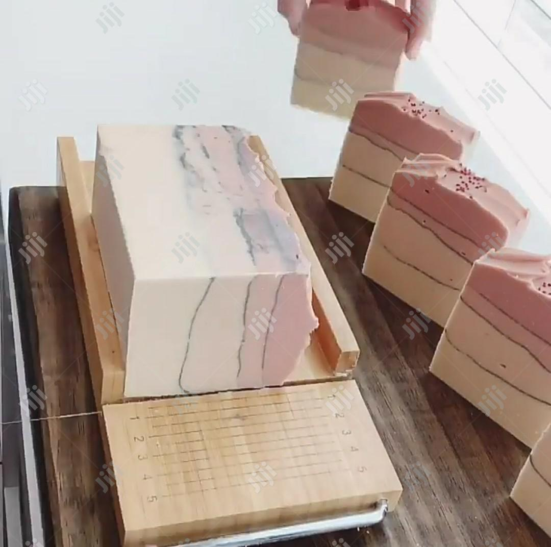 Training On Natural Hand Made Bar Soap